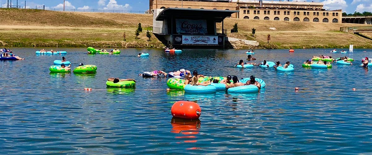 Tubing Returns to Panther Island Pavilion –  Expanding to 6 days a week